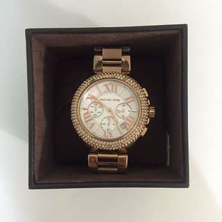 Used Michael kors 玫瑰金手錶