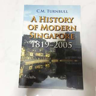 Turnbull — History of Modern Singapore