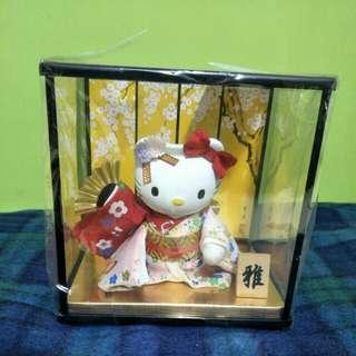 Original Sanrio Hello Kitty Kimono Display