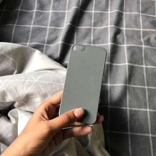 Solid grey iphone 5/5S case