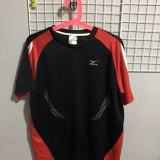 Authentic mizuno sports shirt