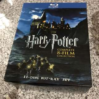 Harry Potter 8-Film Complete Blu-Ray Set (Used)