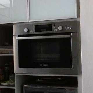 Bosch Built-in Steam Bake Oven
