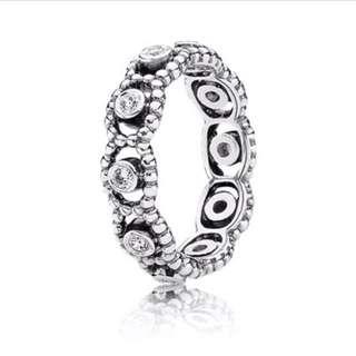 Pandora Sterling Silver Princess Silver Ring