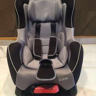 Pliko.my Grey Car Seat