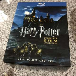 Harry Potter 8-Film 11-disc Complete Blu-Ray Set (Used)