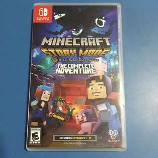 Nintendo switch Minecraft story mode