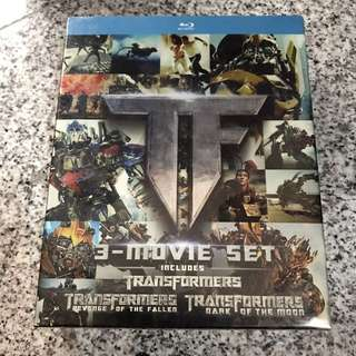 Transformers 1-3 blu-ray collection (sealed)