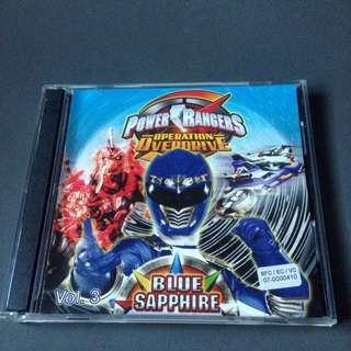 Power Rangers Operation Overdrive - Blue Sapphire (NEW)