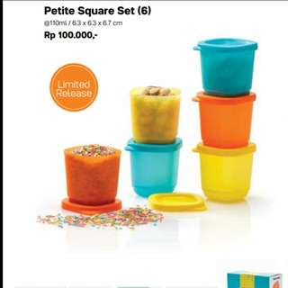 Tupperware Petite Square Set