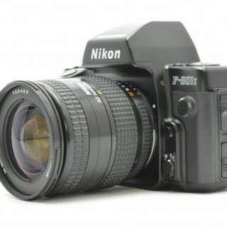 單眼相機 底片 鏡頭 nikon f801s 24~50mm AF AIs