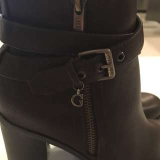 Brown Guess Ankle Boots
