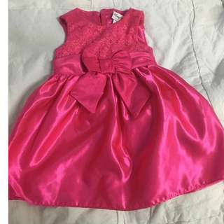 pink rare edition dress gown