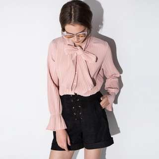 Brand New Pixie Market Pink Blouse size small