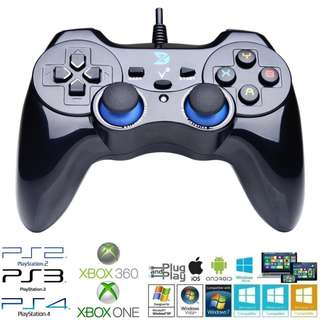 Brand New! ZD-V+ USB Game Controller Gamepad with Vibration for Windows, Android & iOS - $25