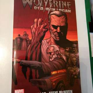 Old Man Logan book