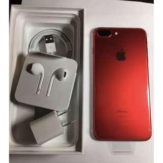Apple IPhone 7 Plus In Red With 128GB