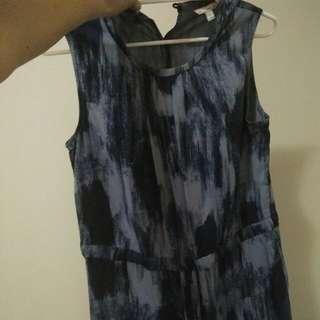 GAP soft tencel knee length dress