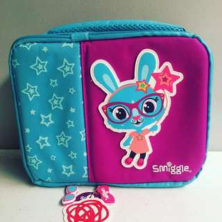 Smiggle Double Square Lunchbox