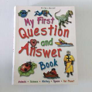 🐞 My First Question And Answer Book