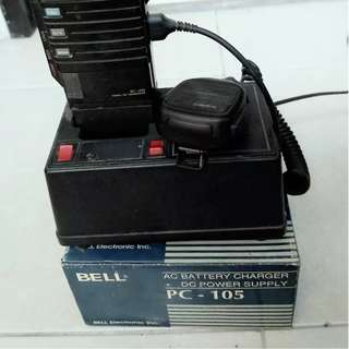 Power Supply 5A Charger BELL Buat HT ICOM