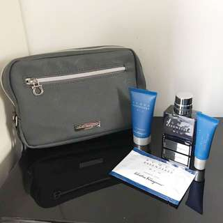 Travel essentials kit and pouch
