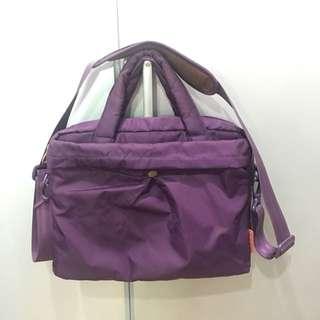 Hellolulu Purple Laptop Bag