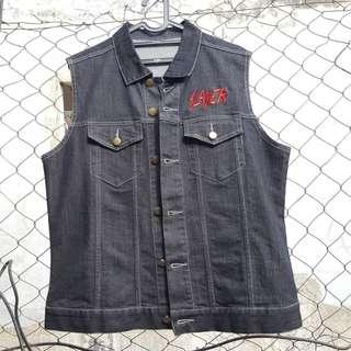 Vest Jacket Slayer Official Merch