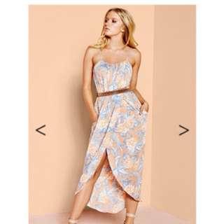 Sheike Waikiki Maxi Dress - Size 8