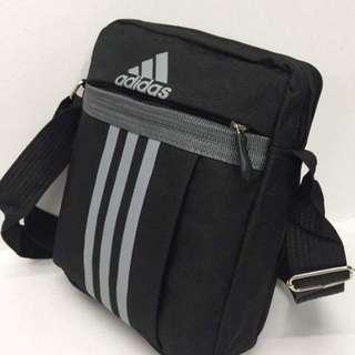 Adidas sling bag size : 8*9 inches