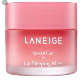 Laneige sleeping lip mask