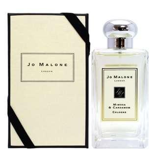 🚚 Jo Malone 小荳蔻 香水 附盒子提袋 英國購入
