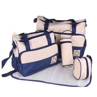 5 in 1 Mummy Essential Diaper Bag
