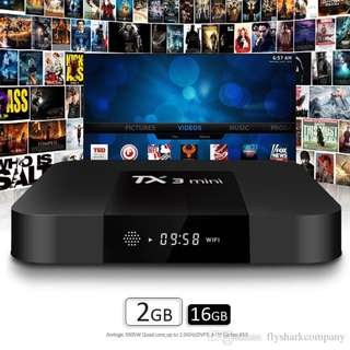 TX3 mini - 2G ram + 16G Rom with 30+ apps for movies, sport, epl , kids channels, Tv box , android tv box 2gb , EPL + HBO + Movies , android tv box no subscription , android tv box 4k 2gb ram, android tv box latest, world cup , setup box , android box