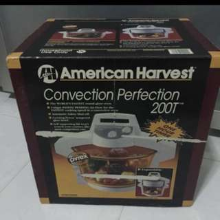 American Harvest Convection Perfection  Includes Genuine Pyrex Pot