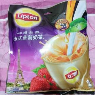 立頓草莓奶茶15包