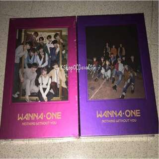 (In stock sealed) Wanna One Nothing without you repackage album