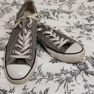 Converse (grey, sz5 mens)