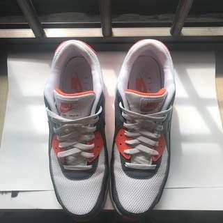 Nike Airmax Black, White and Orange