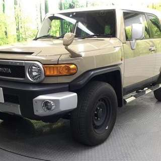 TOYOTA FJ CRUISER OFFROAD PACKAGE  Month / Year:11.2013  Color:GOLD  Mileage:51,300 km Displacement:4.0L  Steering:Right  Transmission:AT  Fuel:GASOLINE  Drive:4WD  Doors:5D  Repaired:None  Chassis No:GSJ15-012****  Model code:GSJ15W