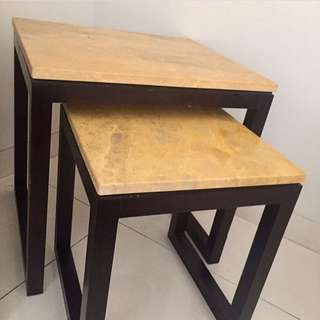 HARBOLNAS SALE! Marble End Table