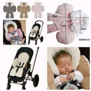 JJ Cole Head & Body Support Baby Car Seat