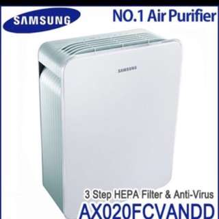 Samsung Air Purifier (Airpurifier, Anti Allergy, Deodorizer and Virus Doctor AX022) - UP $350 (Nego)