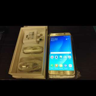 Samsung Note 5 64GB Gold Dual Sim
