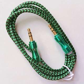 Colour *AUX*Cable Stereo.Audio Input Cord Male To Male 1m