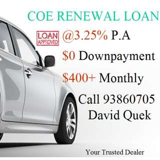 FEB 5 YRS Coe Renewal Monthly @$400+