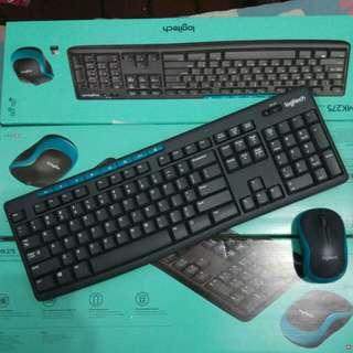 Wireless Keyboard & Mouse Combo LOGITECH MK275