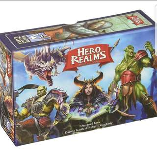 Hero Realms Brand New Board Game