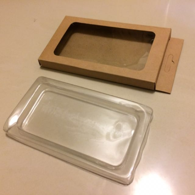 100入手機殼包裝紙盒 出清隨便賣 中