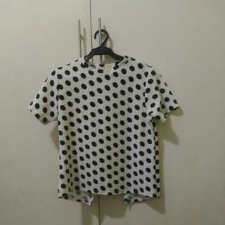 GTW FAB Polkadotted Blouse